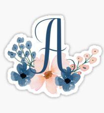 Monogram A Sticker