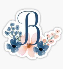 Monogram B Sticker