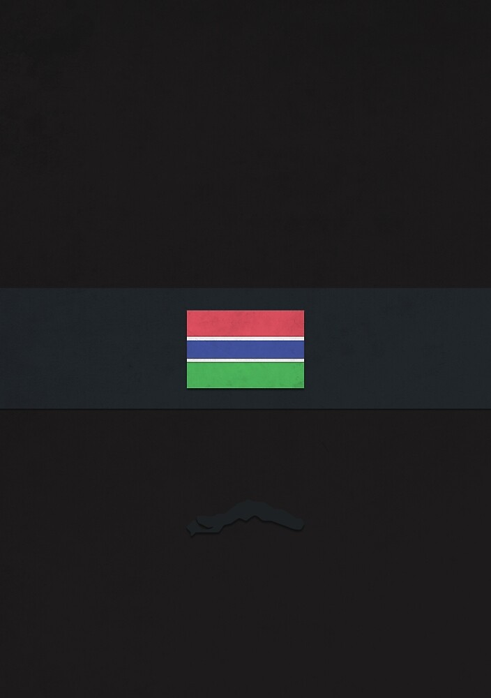 Gambia by FlatFlags