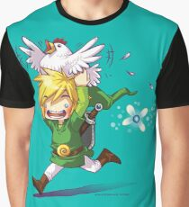 Cucco Run! - Legend of Zelda Graphic T-Shirt
