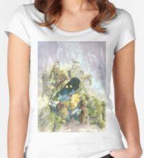 Vivi Rain Women's Fitted Scoop T-Shirt