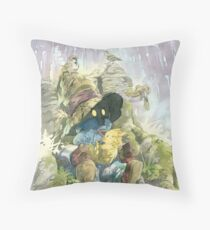 Vivi Rain Throw Pillow