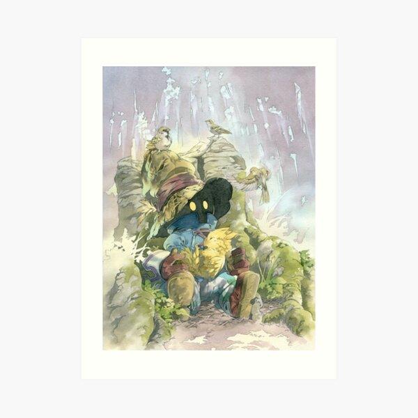 Vivi Rain Art Print