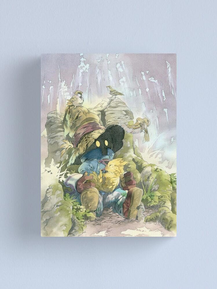 Alternate view of Vivi Rain Canvas Print