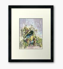 Vivi Rain Framed Print