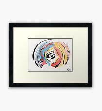 erwachsend Aquarell Gemälde Framed Print