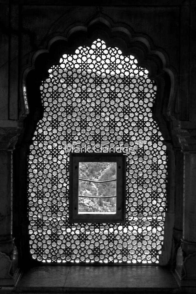 Mosaic Window India by Mark Claridge