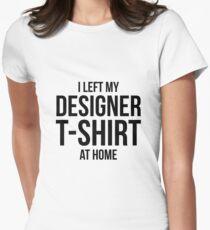 Designer t-shirt Womens Fitted T-Shirt