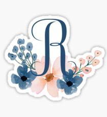 Monogram R Sticker