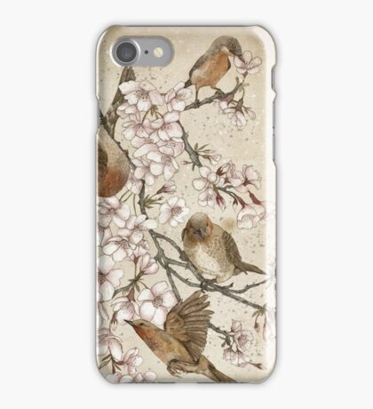 Too many birds iPhone Case/Skin