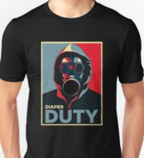 Diaper duty - new dad parenting design Unisex T-Shirt