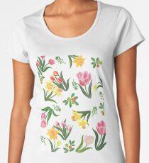 Easter flowers Women's Premium T-Shirt