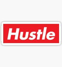Hustle Supreme Sticker
