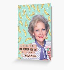 Rose Nylund 2 Greeting Card