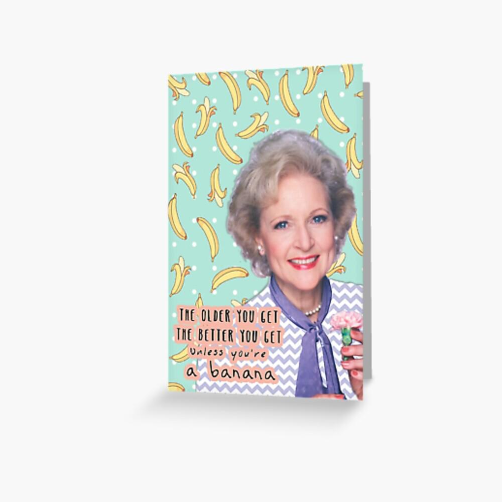 Rose Nylund 2 Greeting Card