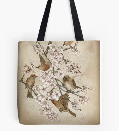 Too many birds Tote Bag