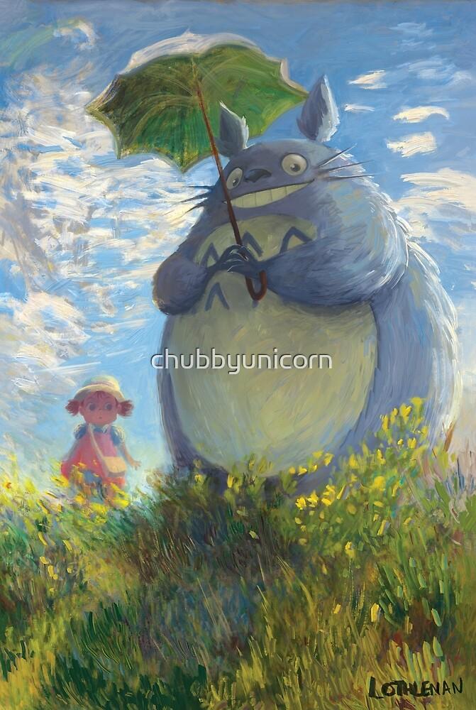 With a Parasol by chubbyunicorn