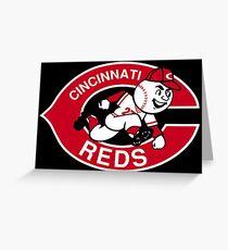 cincinnati reds Greeting Card