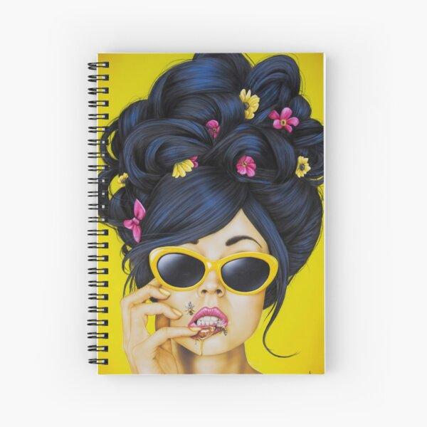 Honey Lips Spiral Notebook
