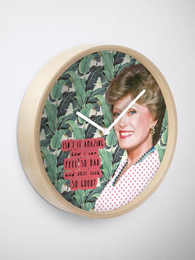 Alternate view of Blanche Devereaux 2 Clock