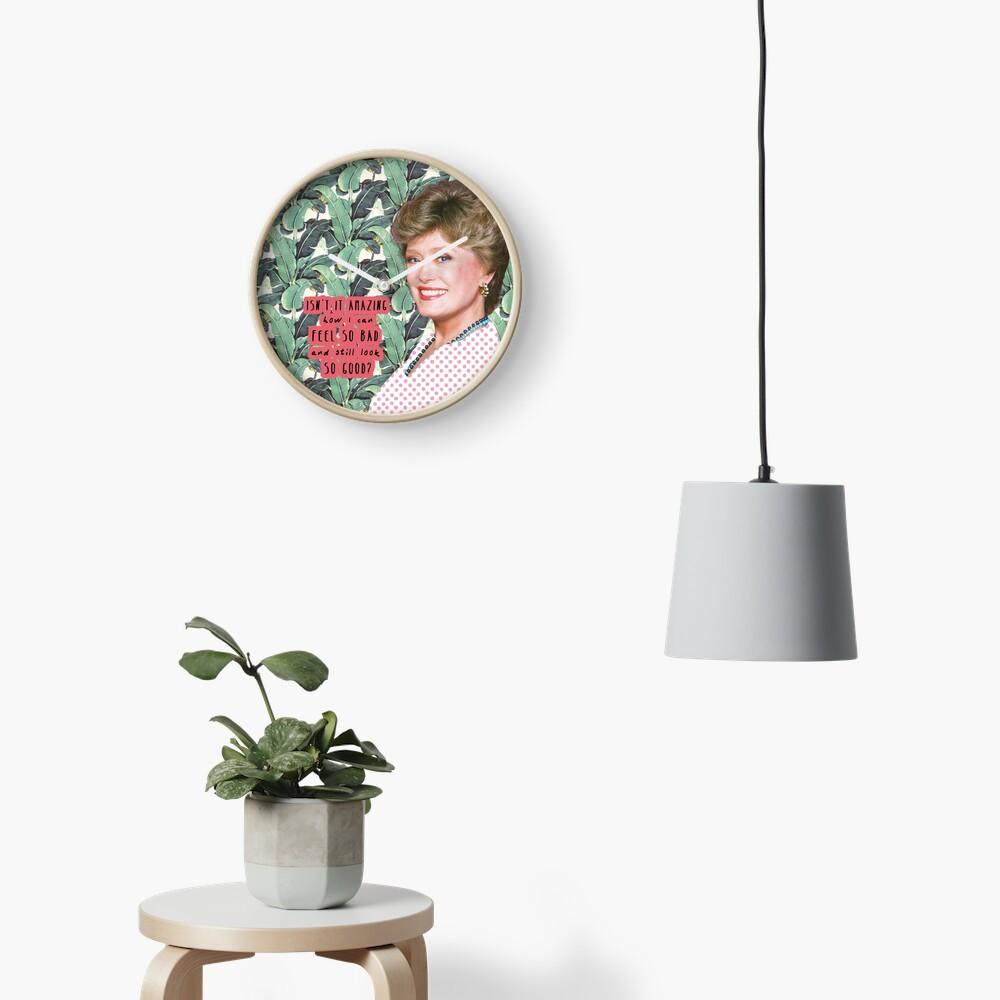 Blanche Devereaux 2 Clock