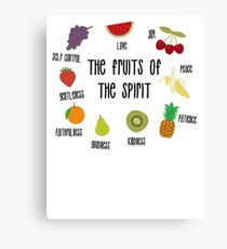 Fruits of the Spirit Canvas Print