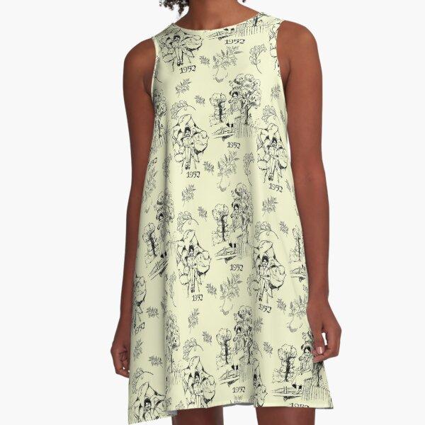 Toile de 1952 A-Line Dress
