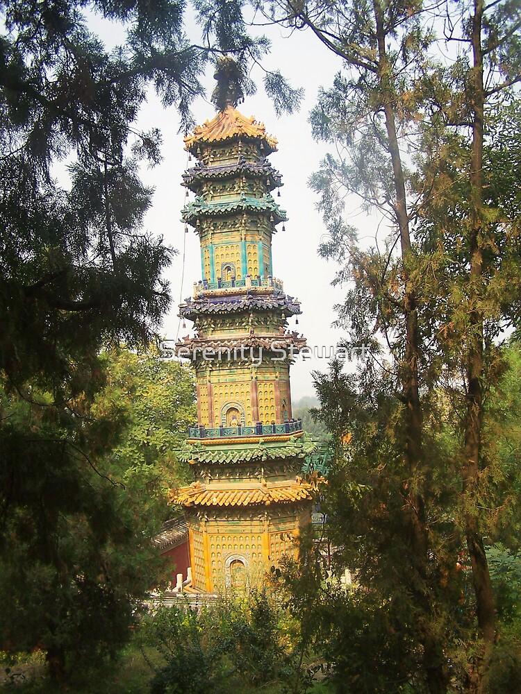 Chinese Pagoda by Serenity Stewart