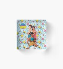 Saved by the Bell Girls Acrylic Block