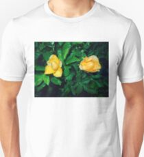 two cute yellow roses 05/22/17 Unisex T-Shirt