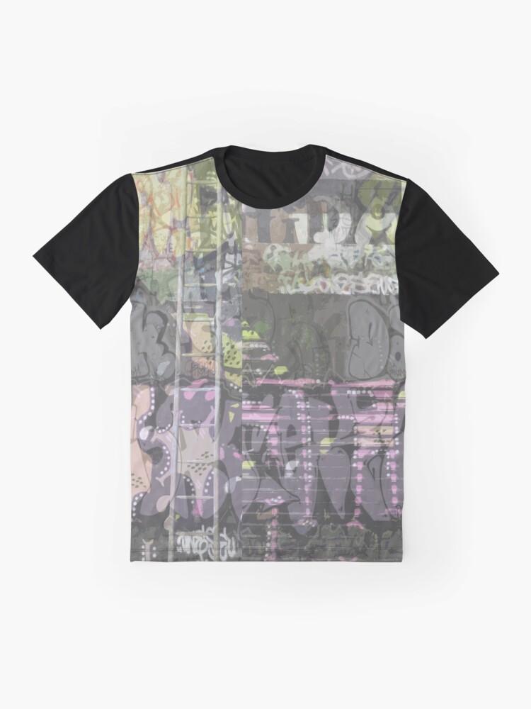 Alternate view of urban art graffiti |  Graphic T-Shirt