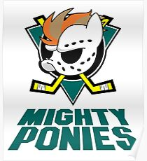the mighty ponies Poster