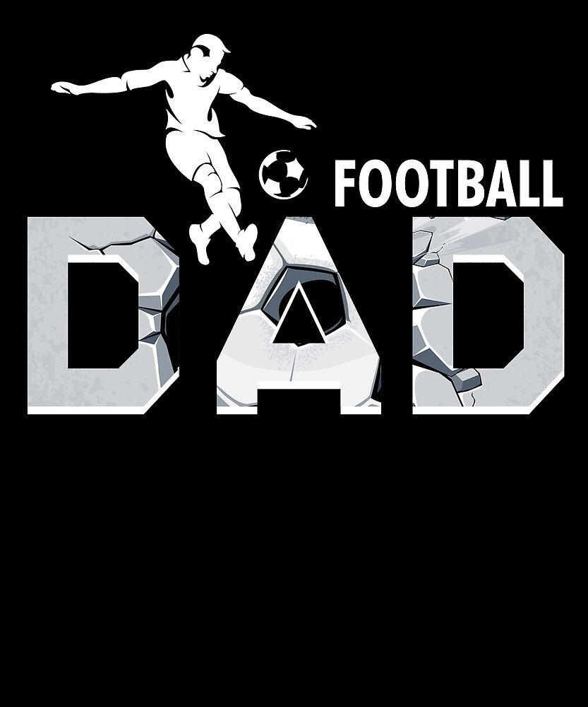 FOOTBALL DAD T SHIRT FATHERS DAY GIFT by sondinh