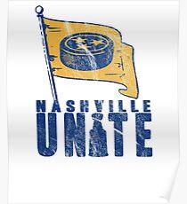 Nashville Hockey Fans UNITE! Poster