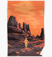 The Martian Journey Poster