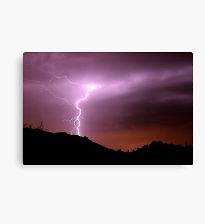 Desert Bolt Canvas Print