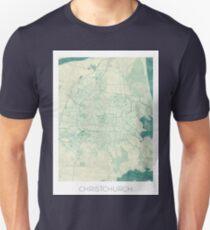 Christchurch Blue Vintage Unisex T-Shirt