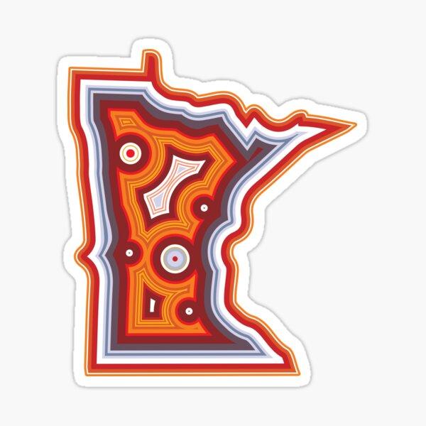 Minnesota Lake Superior Agate Sticker