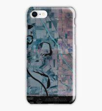 USGS TOPO Map Iowa IA Salix 20100427 TM Inverted iPhone Case/Skin