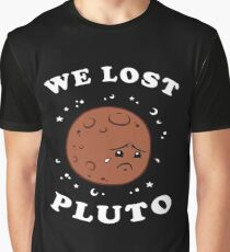 We Lost Pluto Graphic T-Shirt
