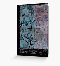 USGS TOPO Map Iowa IA Salix 20100427 TM Inverted Greeting Card
