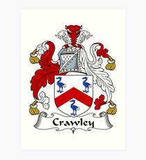 Crawley  Art Print