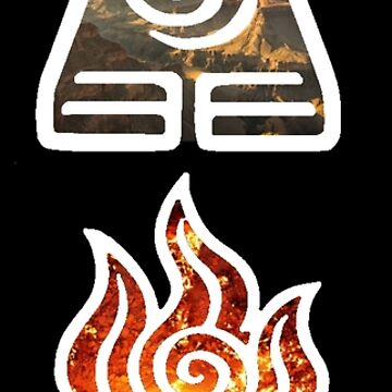 Avatar the Last Airbender Element Symbols by LostHerMarbles