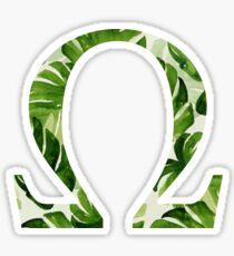 Omega Sticker