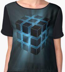 Cube Chiffon Top