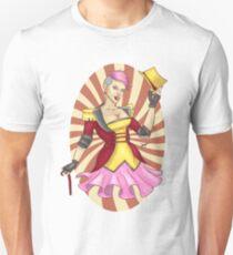 Roller Derby Ringmaster Bombshell Unisex T-Shirt