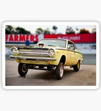 1964 Dodge Dart 'MoPar Madness' Gasser II Sticker