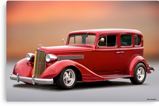 1934 Pontiac Deluxe 8 Sedan by DaveKoontz