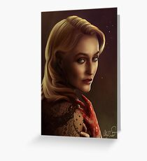 Bedelia du Maurier Greeting Card