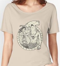 Sirène_04. Women's Relaxed Fit T-Shirt